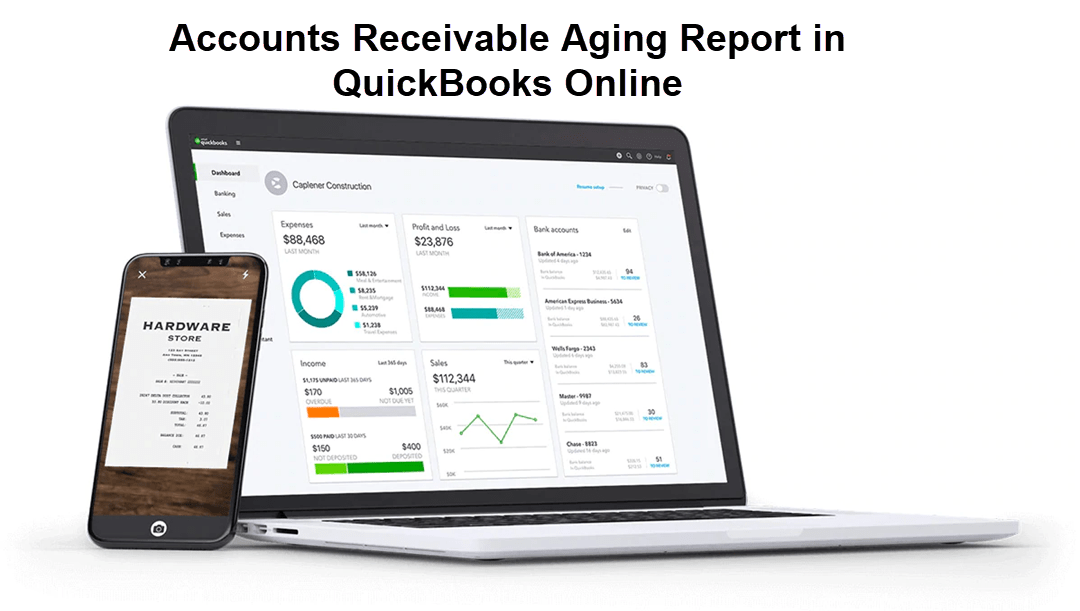 Accounts Receivable Aging Report in QuickBooks Online