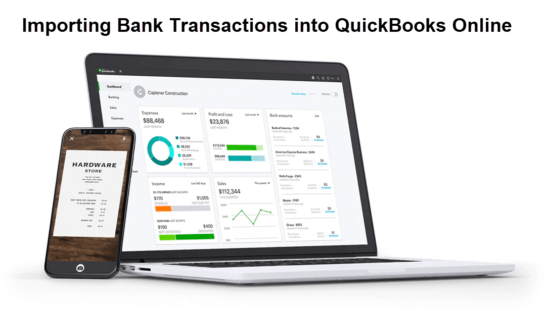 Importing Banking Transactions into QuickBooks Online
