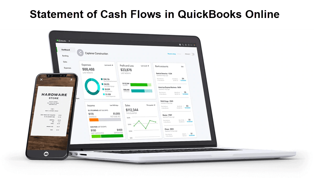 Statement of Cash Flows in QuickBooks Online