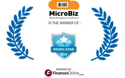 MicroBiz Named 2016 Rising Star by FinancesOnline!