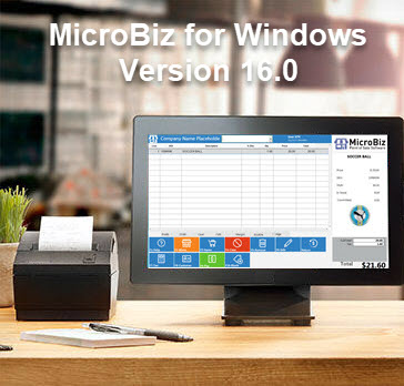 MicroBiz for Windows Version 16 Released!