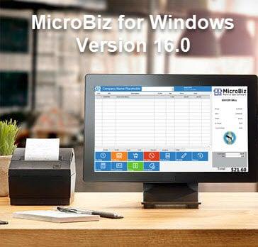 MicroBiz for Windows Version 16 Released!
